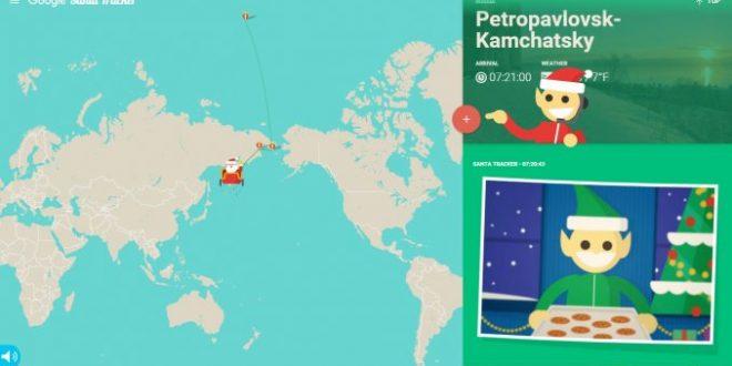 Seguí en vivo el recorrido de Papá Noel por el mundo