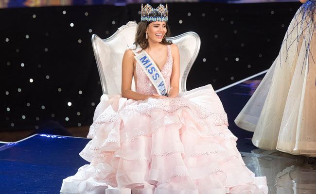 Stephanie del Valle con 19 años es la nueva Miss Mundo 2016