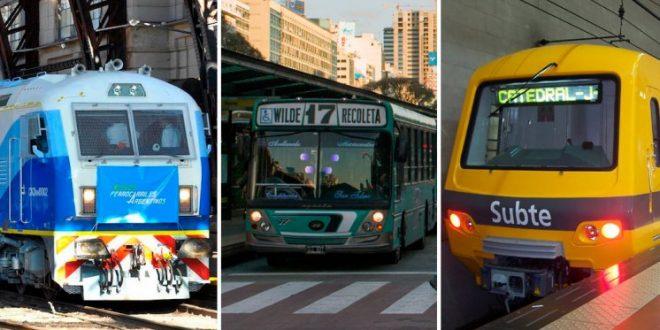 Enterate cuánto ganan los trabajadores del transporte que se adhirieron al paro