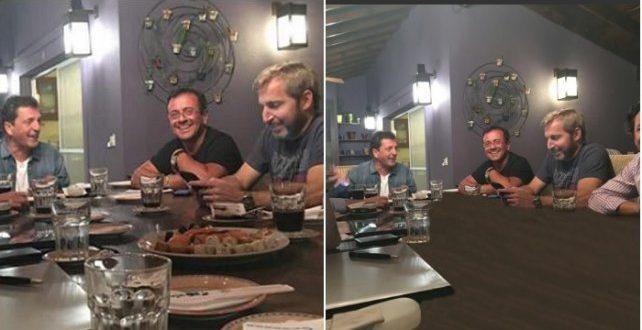 La polémica foto de la reunión entre dirigentes del FR y oficialismo, no quisieron mostrar la comida