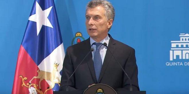 """Macri le contesto a Diosdado Cabello : """"Cobarde es someter a un pueblo por medio de la fuerza"""""""