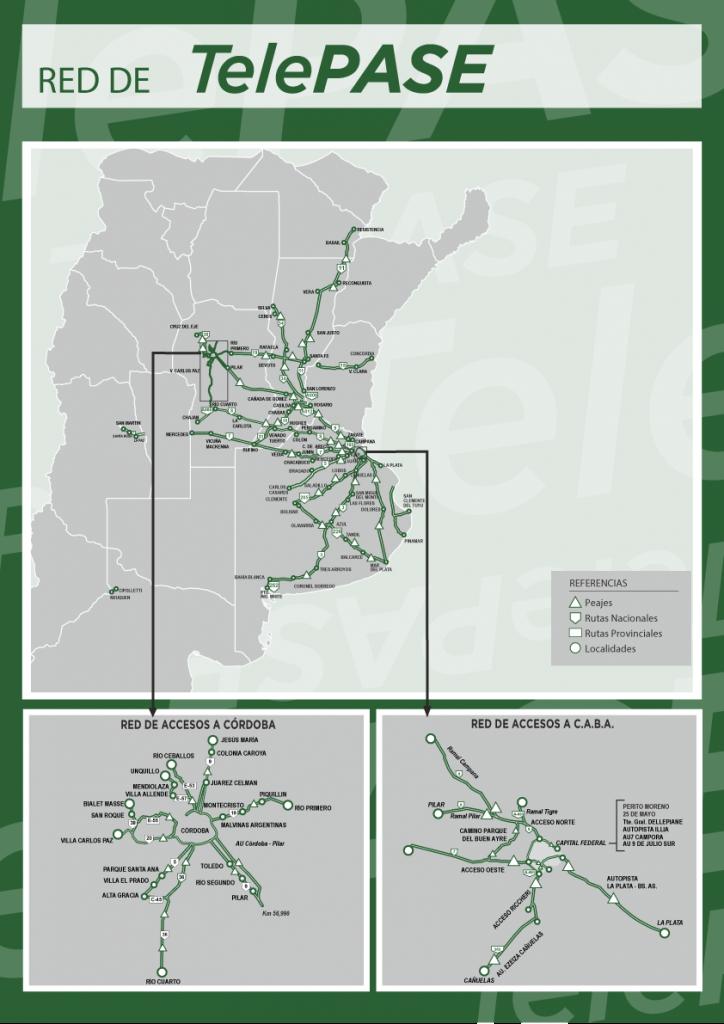 """Como adherirse al """"TelePASE"""" el sistema que permite pasar por todos los peajes de las autopistas y principales rutas del país"""