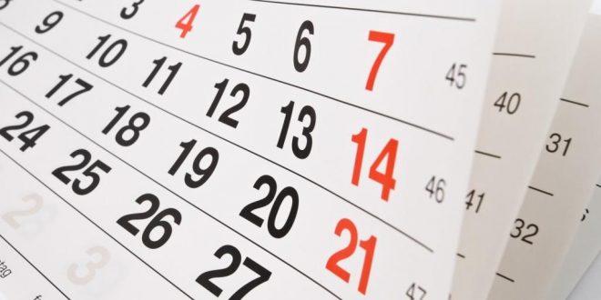 Calendario de feriados fechas patria y asuetos 2017 en Argentina