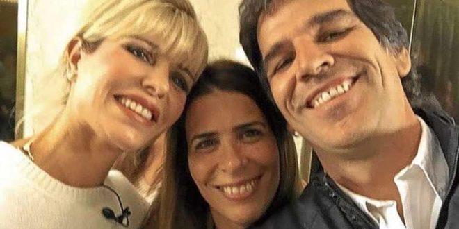 Karina Rabolini de novia con Ignacio Castro Cranwel