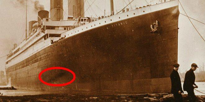 Nueva teoría sobre el hundimiento del Titanic