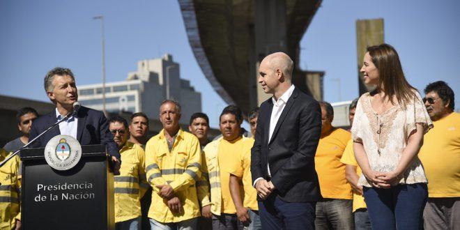 Macri anunció el inicio de las obras del Paseo del Bajo