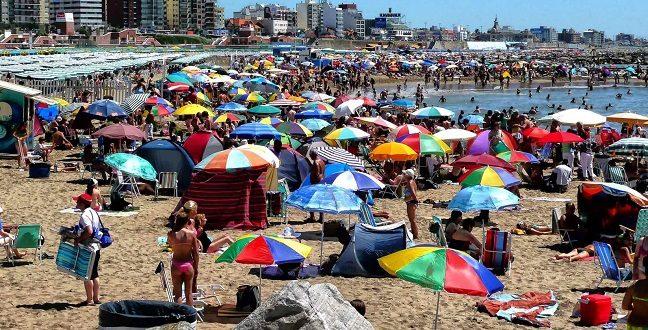 Mar del Plata tuvo 620 mil turistas la primer quincena de Enero