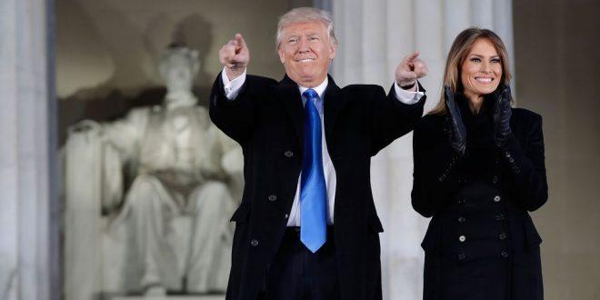 En vivo : Multitudinario concierto en Washington por la asunción de Trump