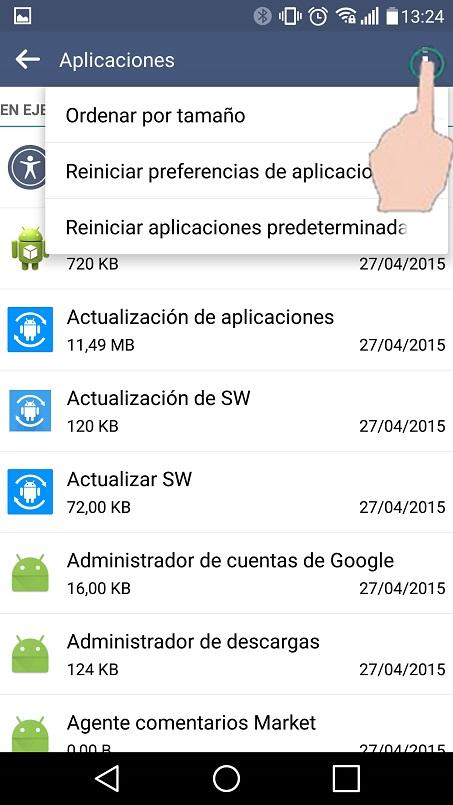 Como liberar memoria en celulares con sistema Android