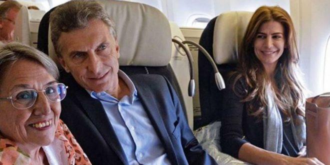 Macri viajará por primera vez en Aerolíneas Argentinas