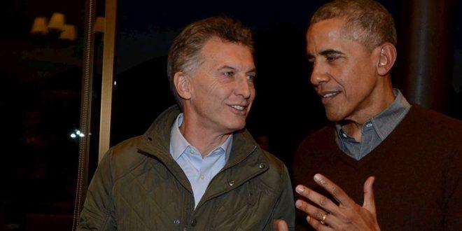 Obama llamó a Macri y le dijo que vendrá a la Argentina en 2018