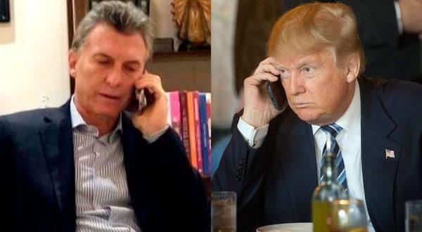Trump invitó a Macri a EEUU