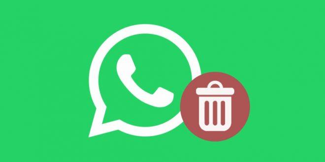Se podrá borrar mensajes enviados de Whatsapp si el destinatario no leyó antes