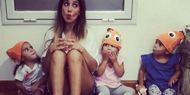 El video Cinthia Fernández y sus hijas