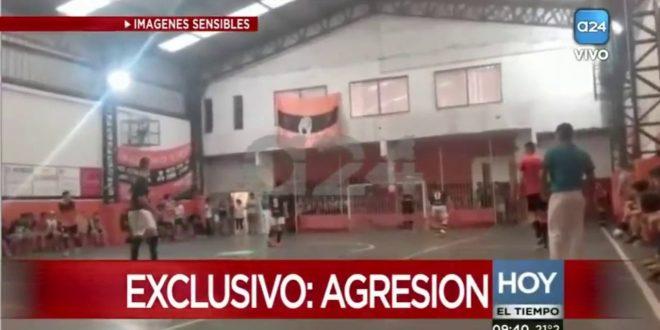 Video: Muere el DT de Futsal del Club Unión de Munro tras ser golpeado por un familiar de un jugador