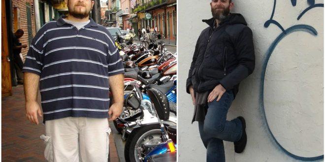 Bajó 72 kilos sin hacer dieta y te cuenta como lo hizo