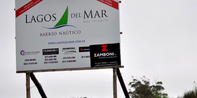 """Demanda milllonaria contra el country """"Lagos del Mar"""" en Mar Chiquita"""
