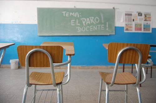 Los docentes anunciaron un paro nacional para el 15, 16, 21 y 22 de marzo