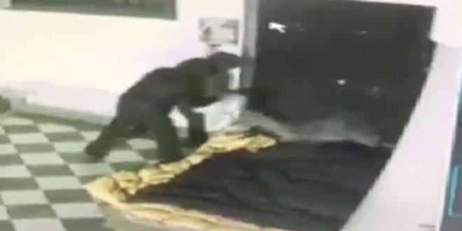 Video indignante : Queman vivo a un indigente