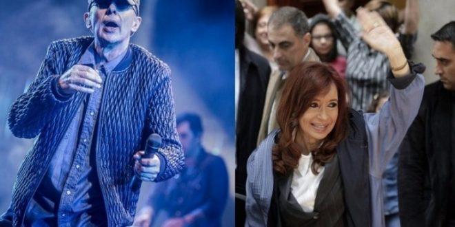 Pasenla lindo, disfruten , el mensaje de Cristina Kirchner antes del recital del Indio