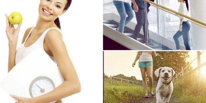 Actividades diarias queman más calorías que un paseo de 30 minutos