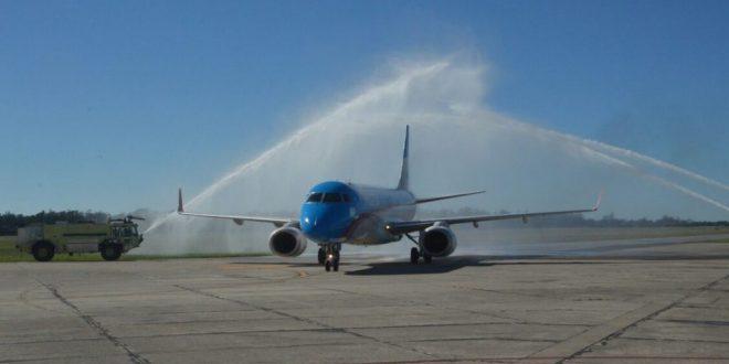 Aerolíneas Argentinas inició las operaciones del Corredor Atlántico