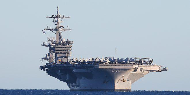 Estados Unidos envía un portaaviones a Norcorea
