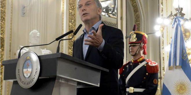 Macri : El paro le cuesta al país $15 mil millones