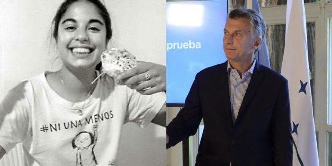"""Macri, sobre el crimen de Micaela García: """"Este tipo de jueces no los podemos tener"""""""