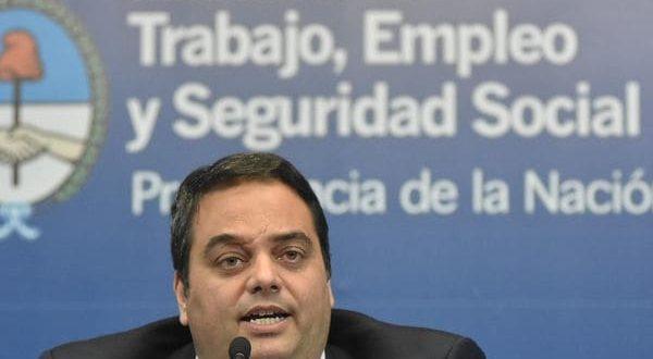 """Jorge Triaca: """"Hay gremios que no representan a sus trabajadores"""""""