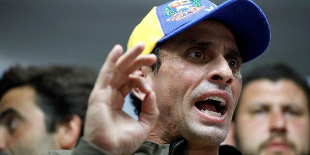 Henrique Capriles fue inhabilitado a ocupar cargos públicos por 15 años en Venezuela