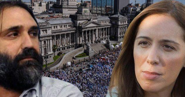 Los docentes suspenden el paro a la espera de una oferta de Vidal