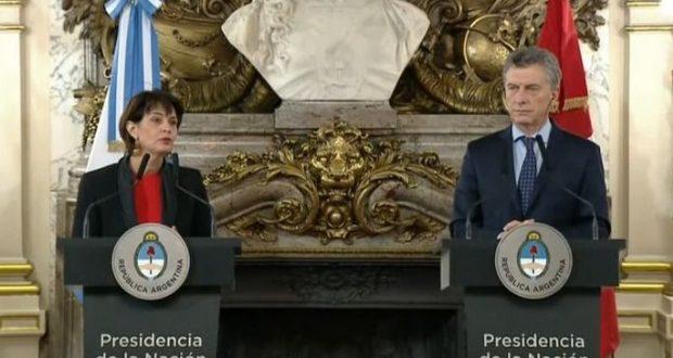 Macri agradeció la cooperación suiza contra la corrupción, el lavado de dinero y la evasión fiscal