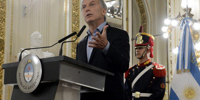 """Macri: """"No podemos aceptar más comportamientos mafiosos en la Argentina"""""""