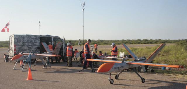 Probaron prototipos de aviones remotamente tripulados en La Rioja