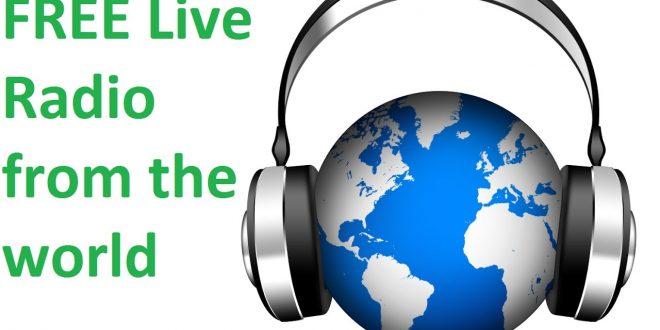 Una pagina permite sintonizar todas las estaciones de radio del mundo