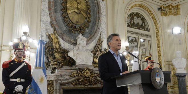 Macri presentó el Acuerdo Federal para la Construcción