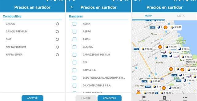 Una app para saber dónde está la nafta más barata