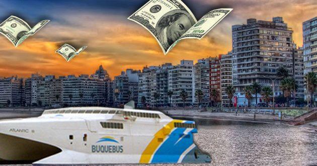 Los argentinos retiraron mas de u$s 1.000 millones de bancos uruguayos en 2016