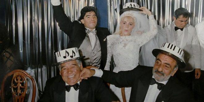 La historia nunca contada de la boda de Maradona