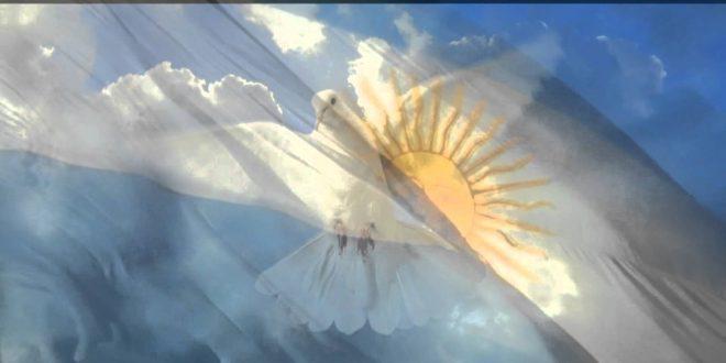 Este el color original de la bandera argentina