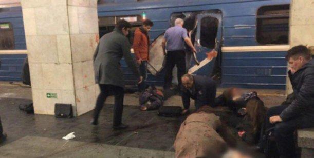 Video : El momento de las explosiones en San Petersburgo