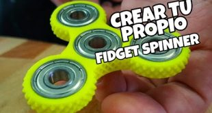 Cómo hacer Fidget Spinner casero
