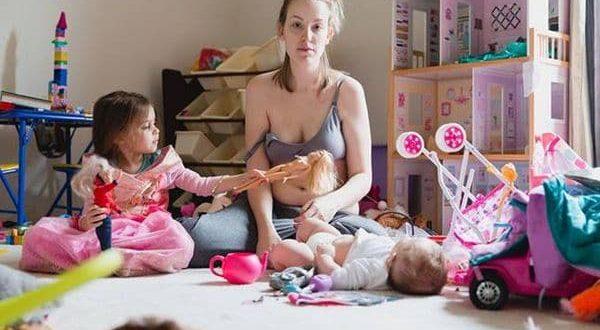 La foto que muestra la enfermedad de la que ninguna mamá se anima a hablar