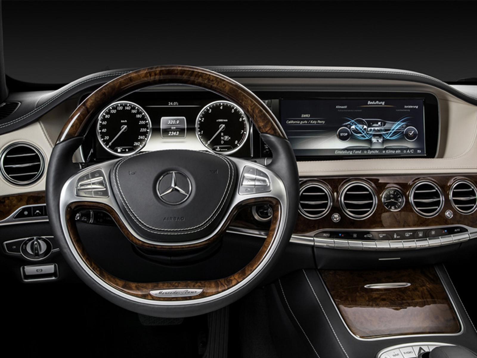 Mercedes Benz clase S 2017 - Detalles técnicos y precios del vehículo mas lujoso