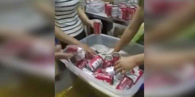 Video: Descubren una falsa fabrica de cerveza Budweiser. Mira como las fabricaban