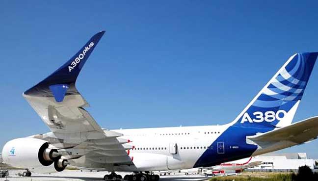 Nuevo modelo del A380