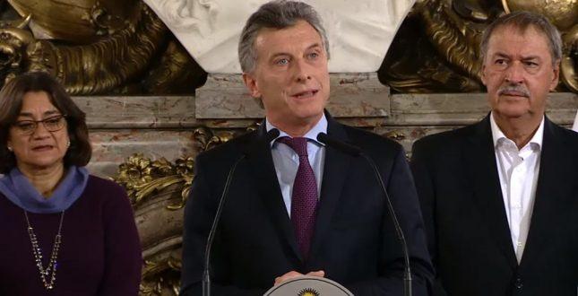Macri presentó el Acuerdo Federal Minero