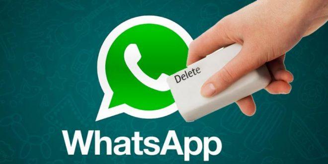 Como borrar los mensajes enviados por Whatsapp