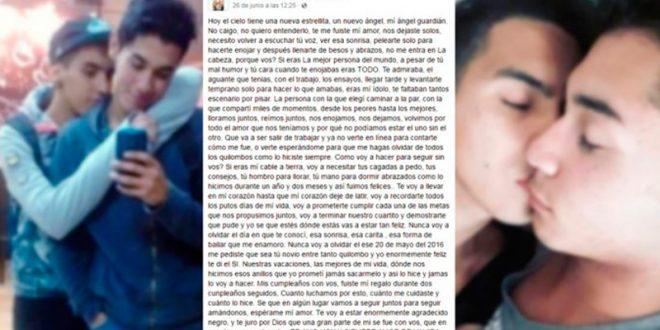 Tragedia de Mendoza: El novio de una de las víctimas le escribió esta carta